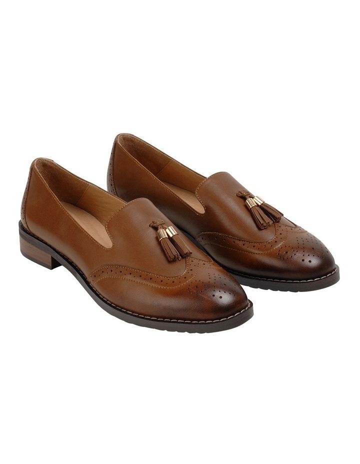Sadler Brown Flat Shoe image 2