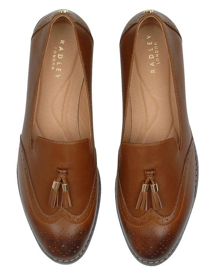 Sadler Brown Flat Shoe image 3