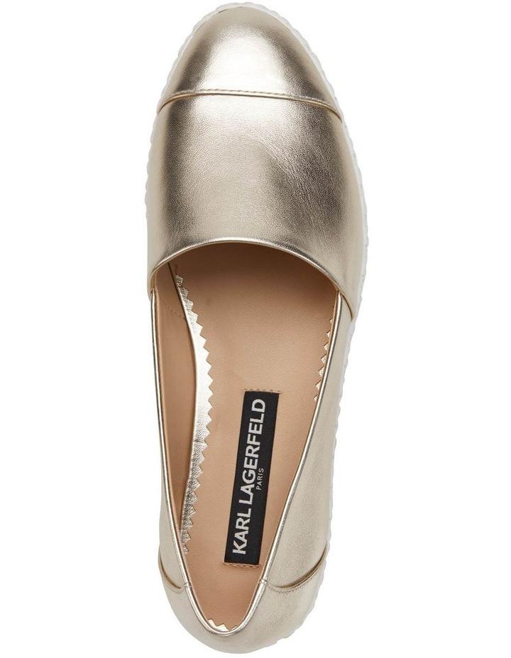 KL109953 Chespie Light Gold Flat Shoe image 3