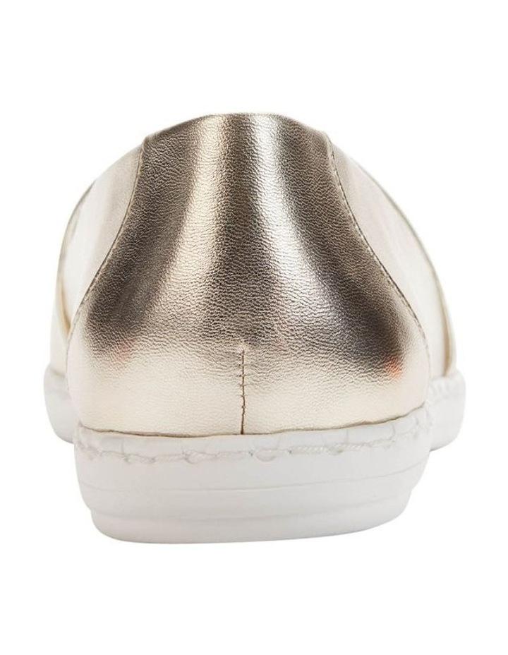 KL109953 Chespie Light Gold Flat Shoe image 4