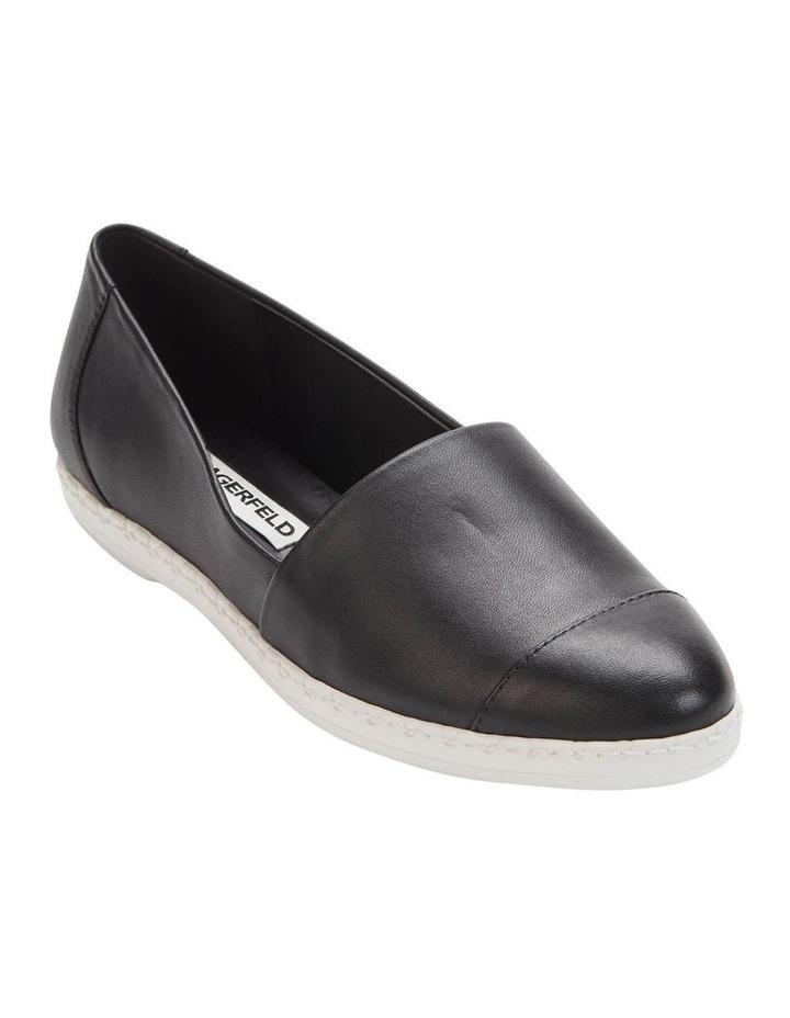 KL109953 Chespie Black Flat Shoe image 1