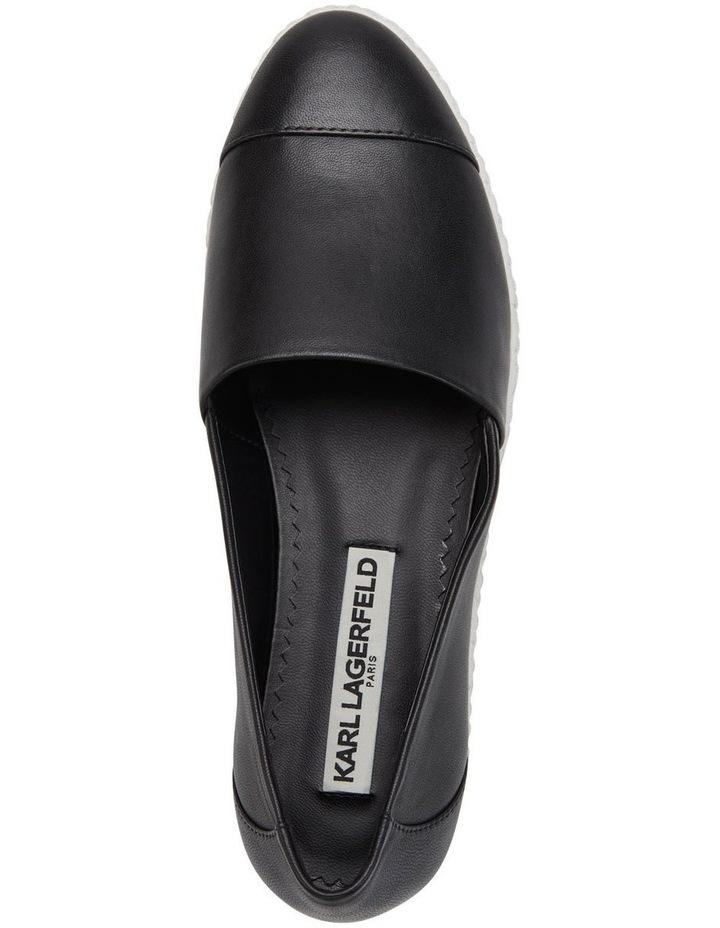 KL109953 Chespie Black Flat Shoe image 3