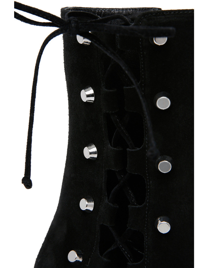 Side Lace Pembury Black Boot image 3