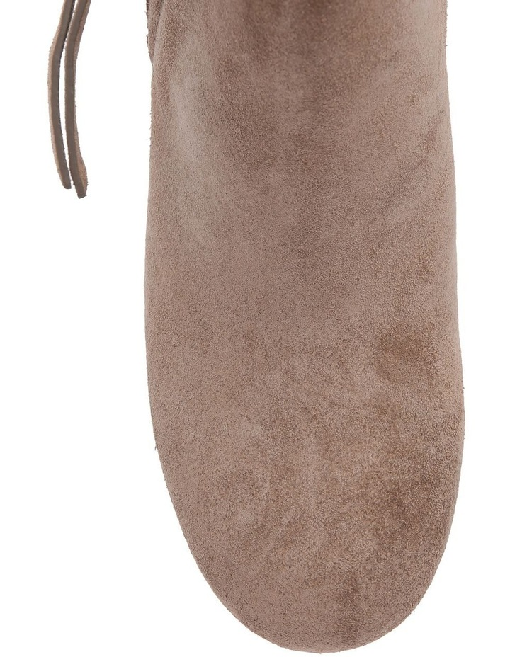 Taupe Suede Boot image 3