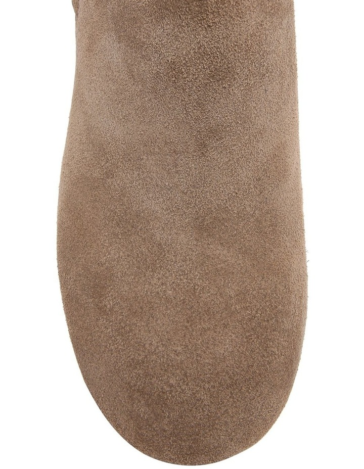 Taupe Suede Boot image 4
