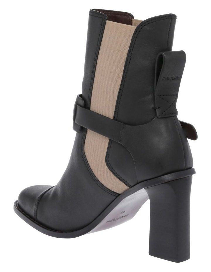 Black Calf with Nude Elastic Boot image 2