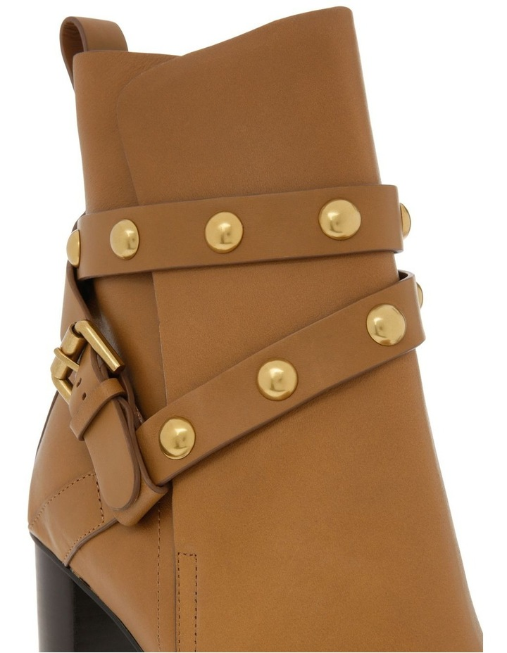 Janis Heeled Ankle Boots with Stud Detail image 3