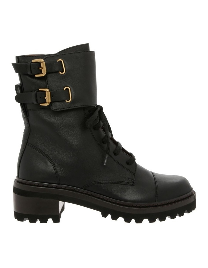 Mallory Leather Combat Boots image 1