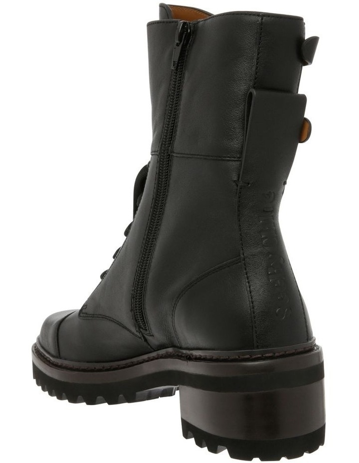 Mallory Leather Combat Boots image 2
