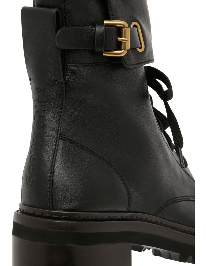 Mallory Leather Combat Boots image 3