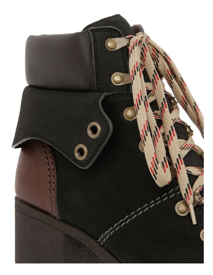 Lace-Up Black Boot image 3
