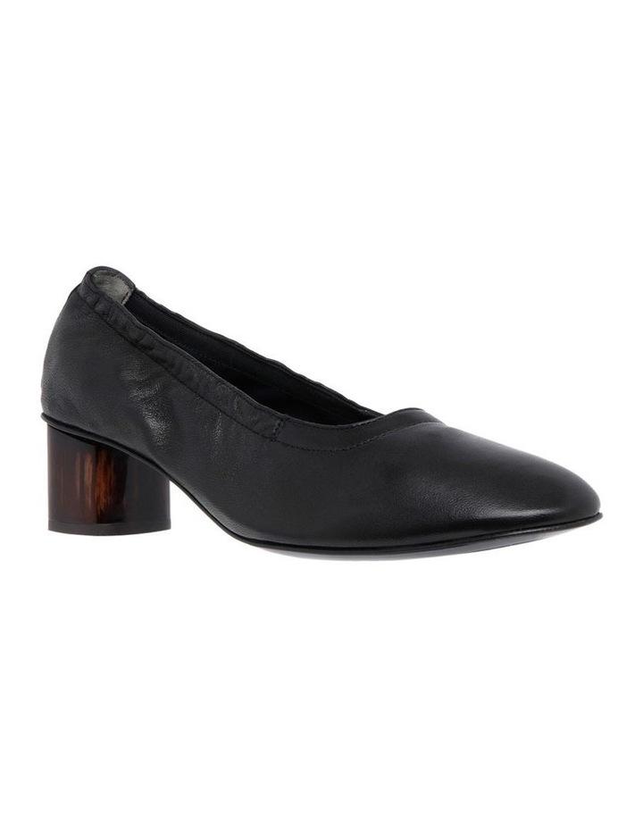 Poket Black Leather Court image 2