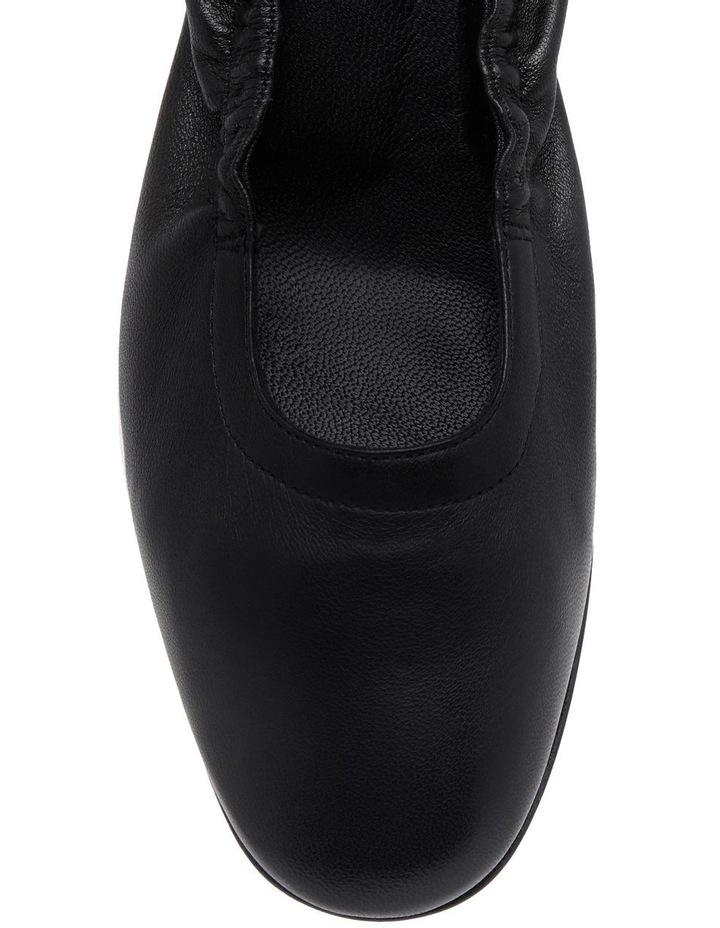 Poket Black Leather Court image 4