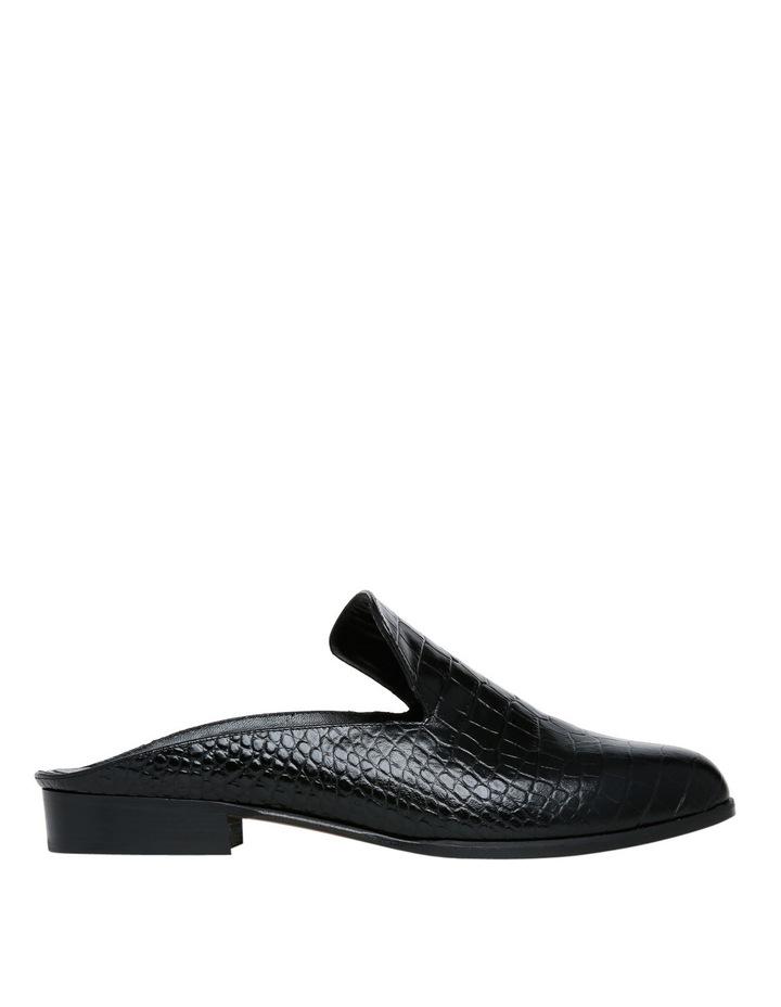 Alicem Black Croc Mule image 1