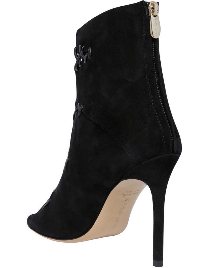 Tiffany Black Suede Heel image 2