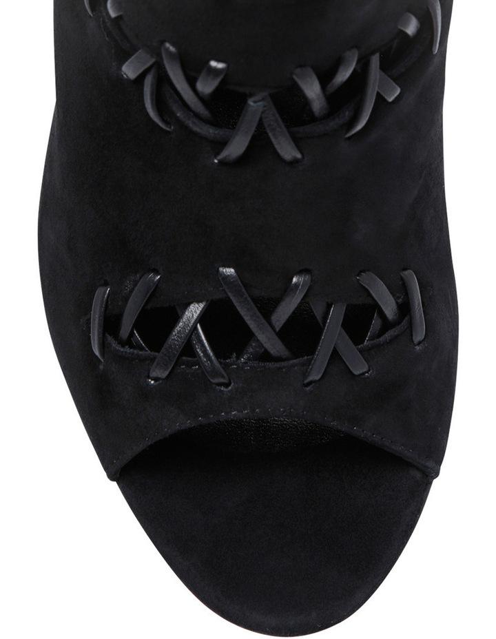 Tiffany Black Suede Heel image 3