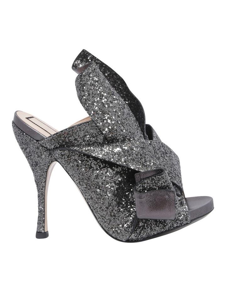 8416 Black Glitter Heel image 1