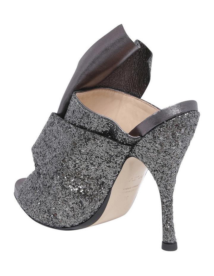 8416 Black Glitter Heel image 2