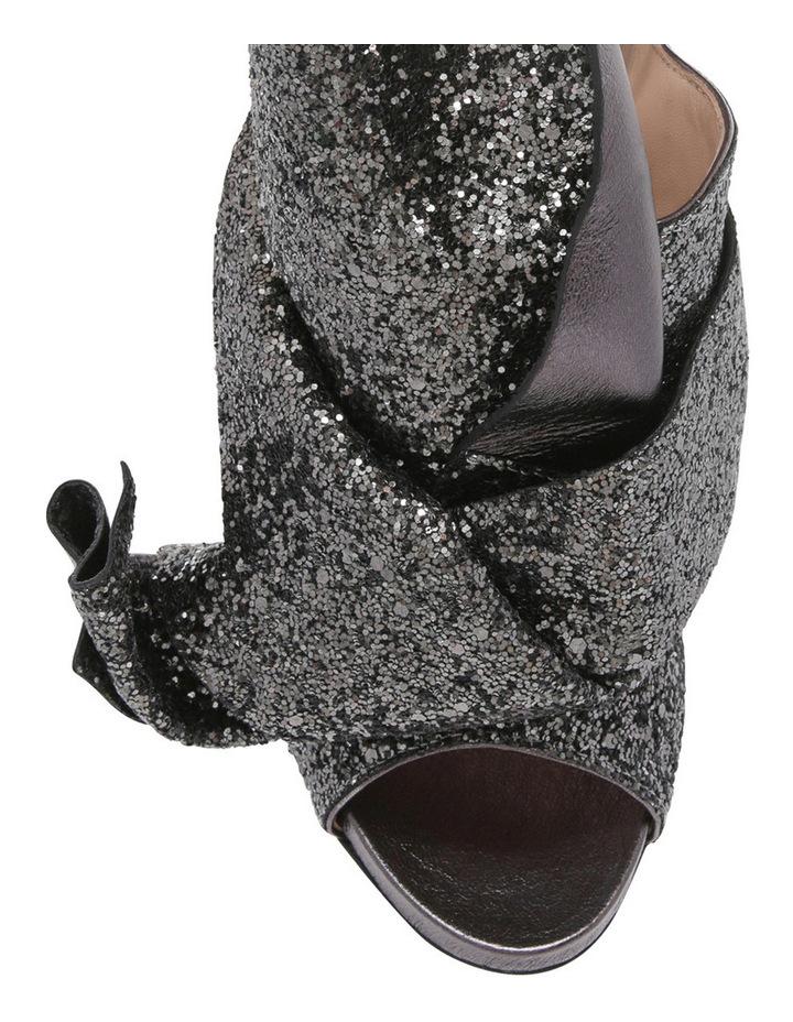 8416 Black Glitter Heel image 3