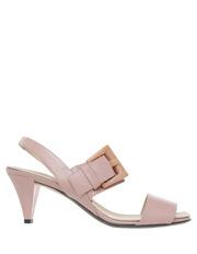 No. 21 - Nude Pink Vitello Carne Sandal