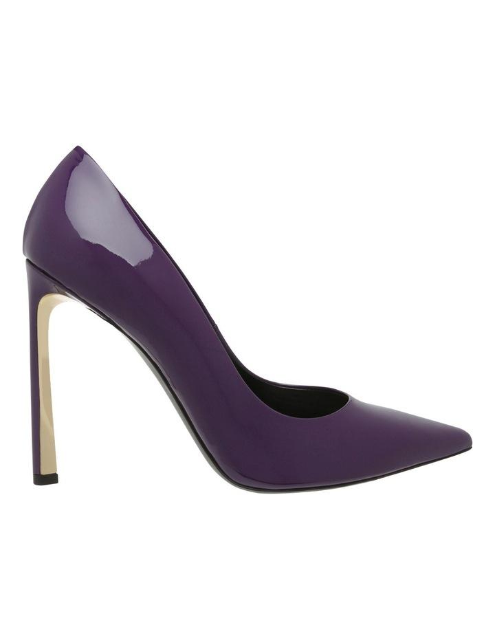 B8S6019-0013D6L 0013 Dark Purple Heel Shoe image 1