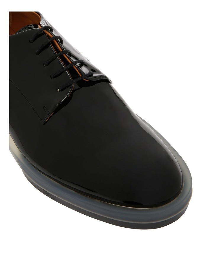 Roma Black Patent Derby Shoe image 3