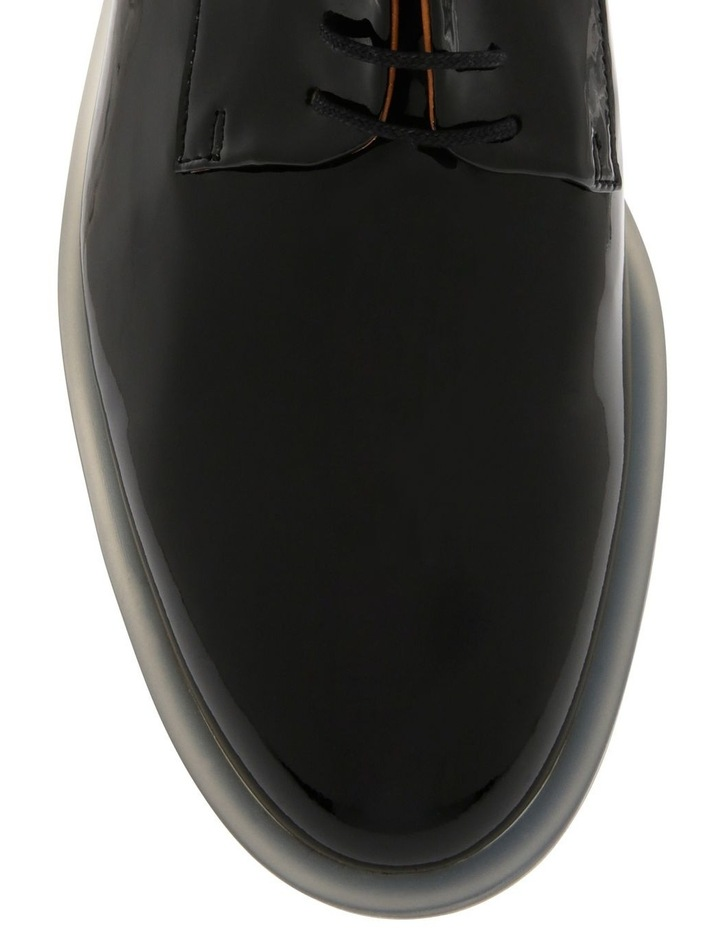 Roma Black Patent Derby Shoe image 4
