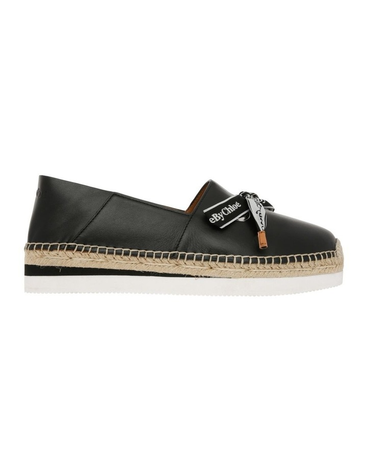 Espadrilles Platform Shoe - Black image 1