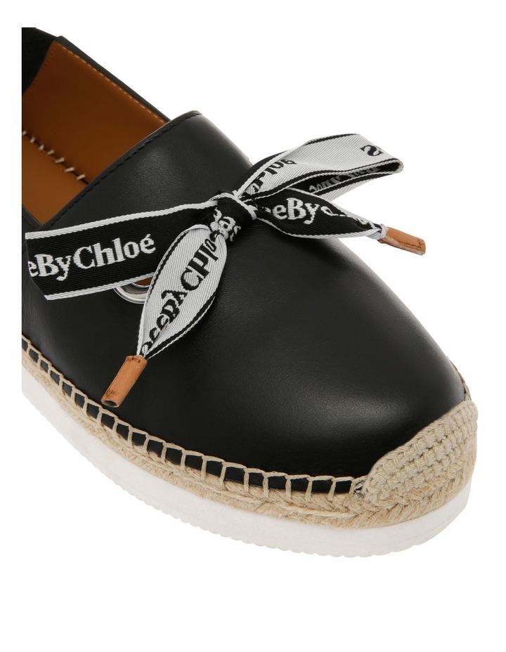 Espadrilles Platform Shoe - Black image 4