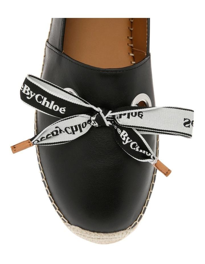 Espadrilles Platform Shoe - Black image 5