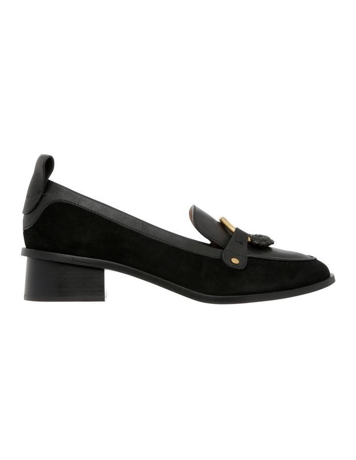 Black Heeled Slipper image 1