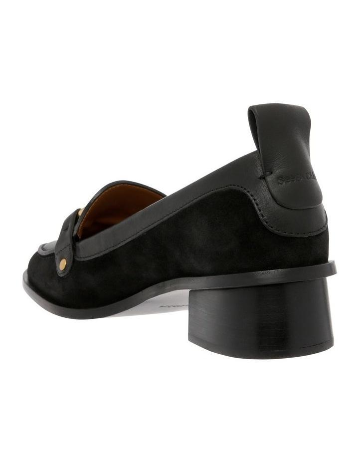Black Heeled Slipper image 2