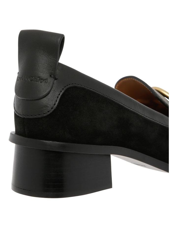 Black Heeled Slipper image 3