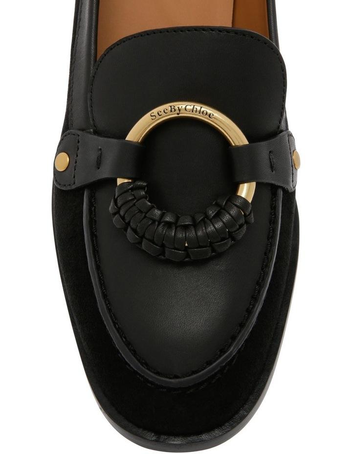Black Heeled Slipper image 5