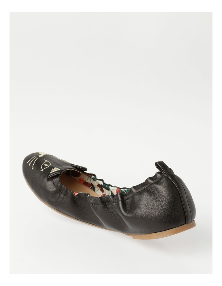 Black Flat Shoes image 3