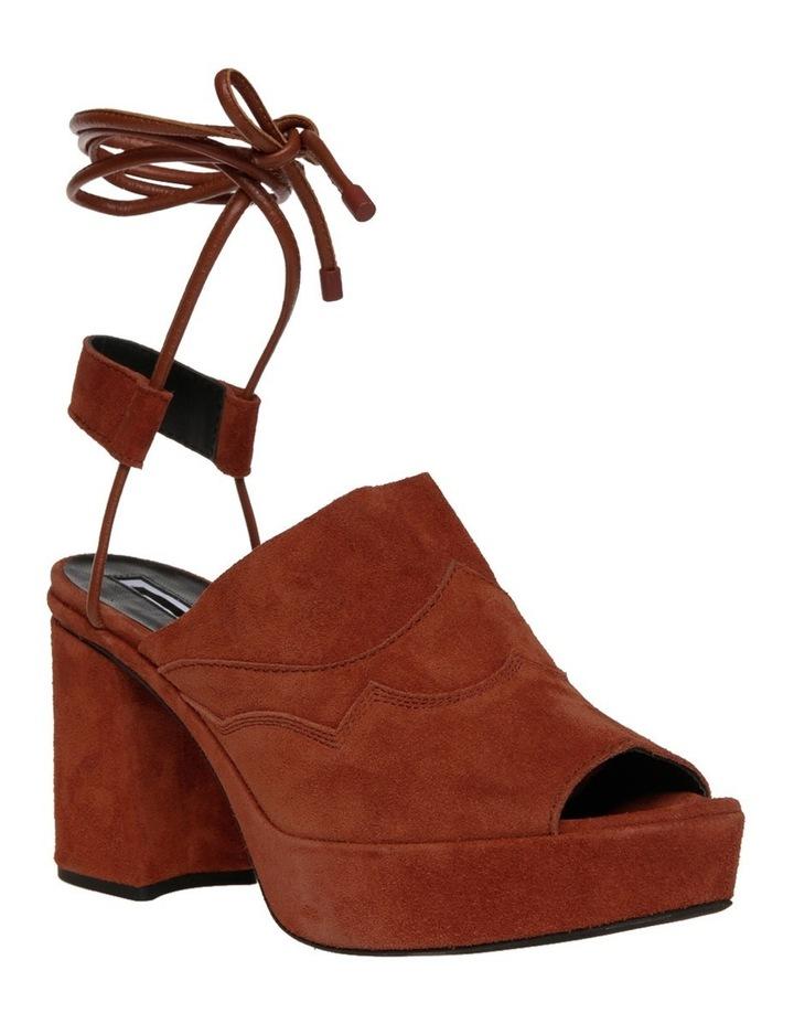 Koko Wrap Sandal in Tan image 2