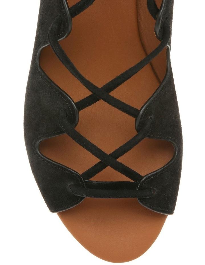 Sedgwick Gold Platform Lace Up Sandal image 4