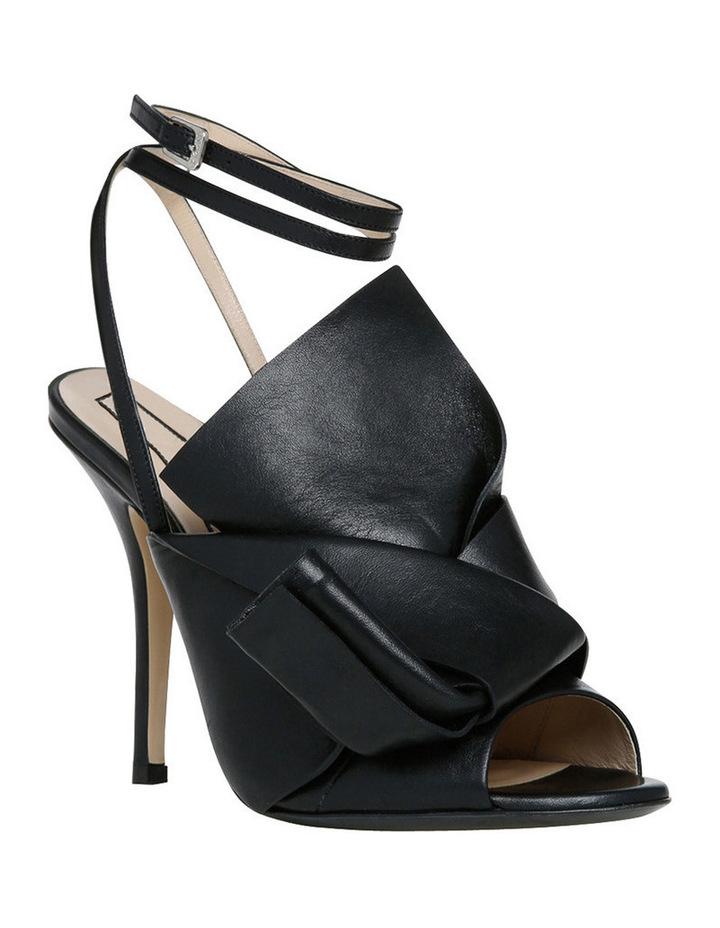 Nori Black Bow Stiletto Sandal image 2