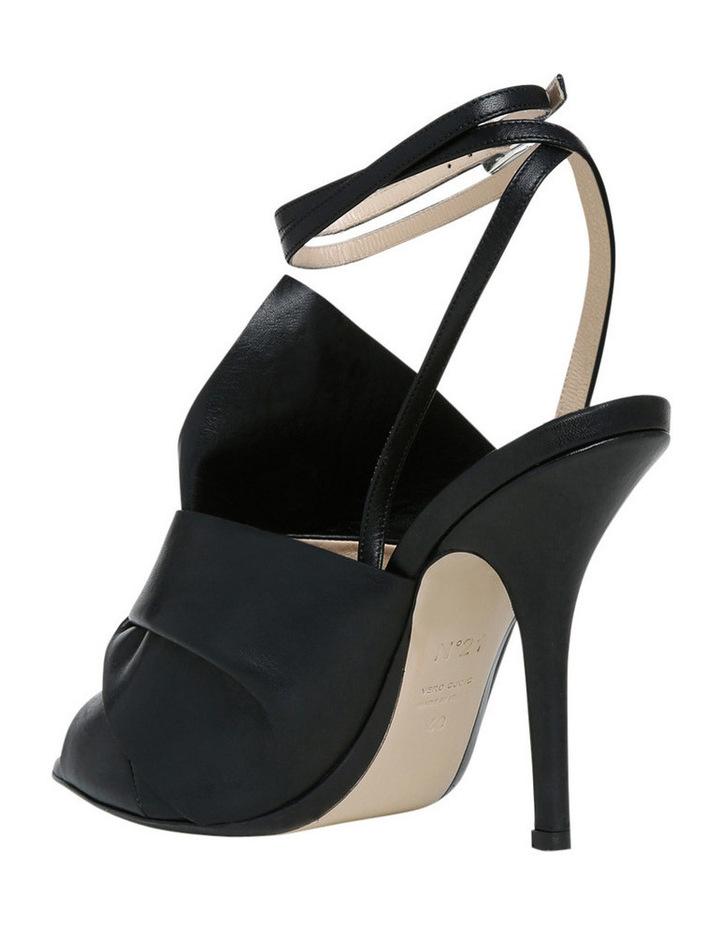 Nori Black Bow Stiletto Sandal image 3