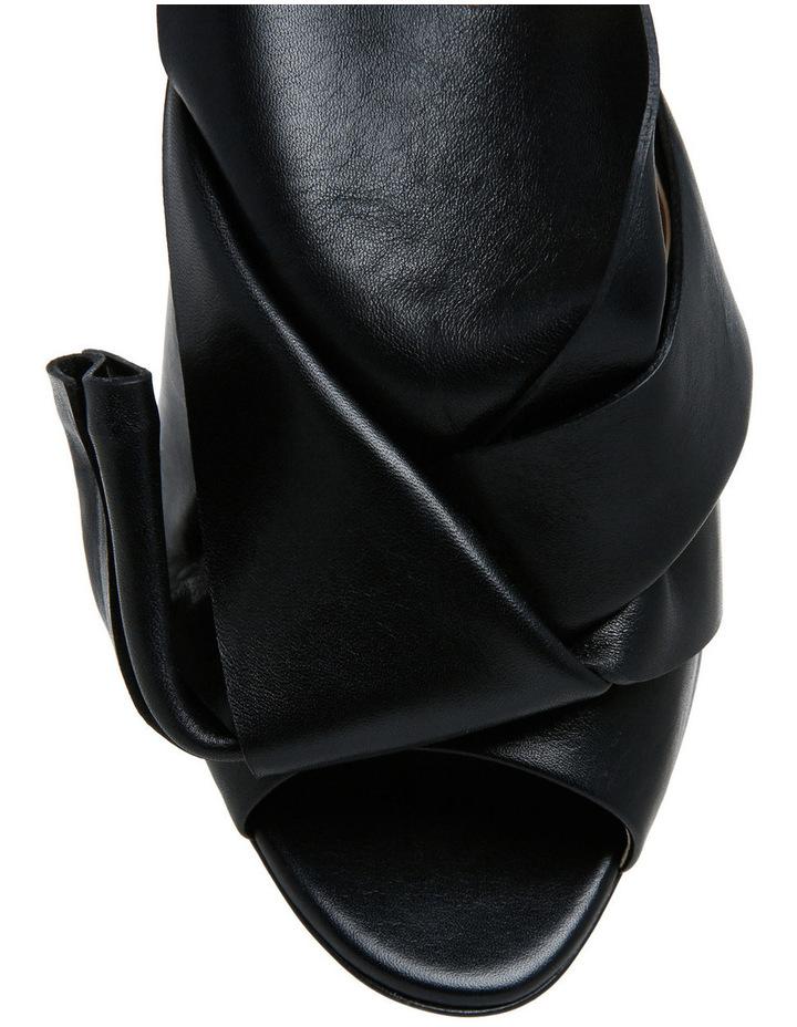 Nori Black Bow Stiletto Sandal image 4