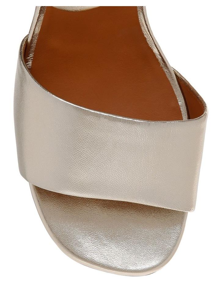 Zora Platine Gold Nappa Sandal image 3