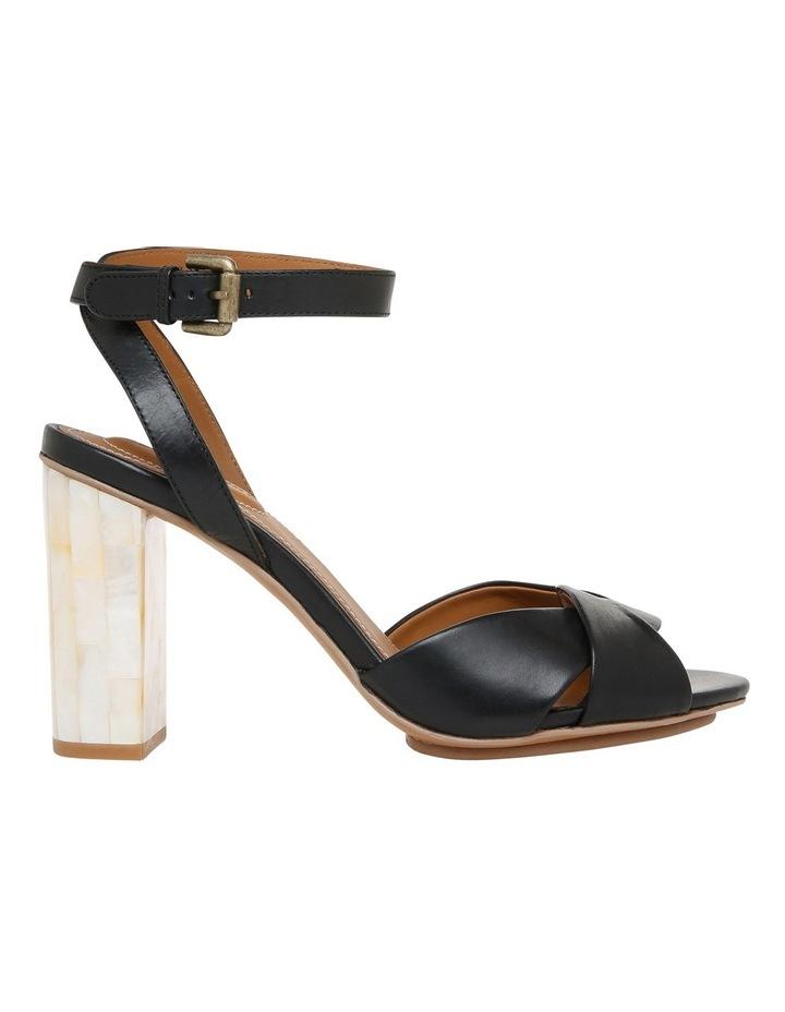 Black Leather Sandal image 1