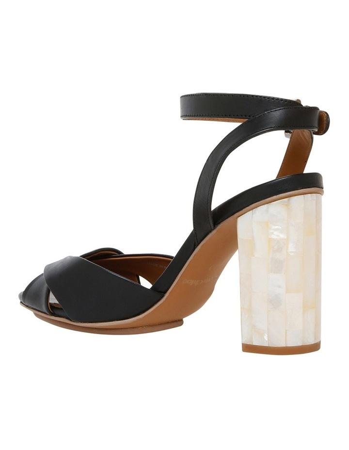 Black Leather Sandal image 2
