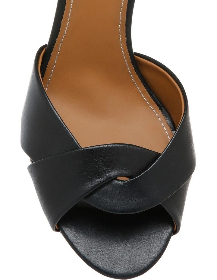 Black Leather Sandal image 3
