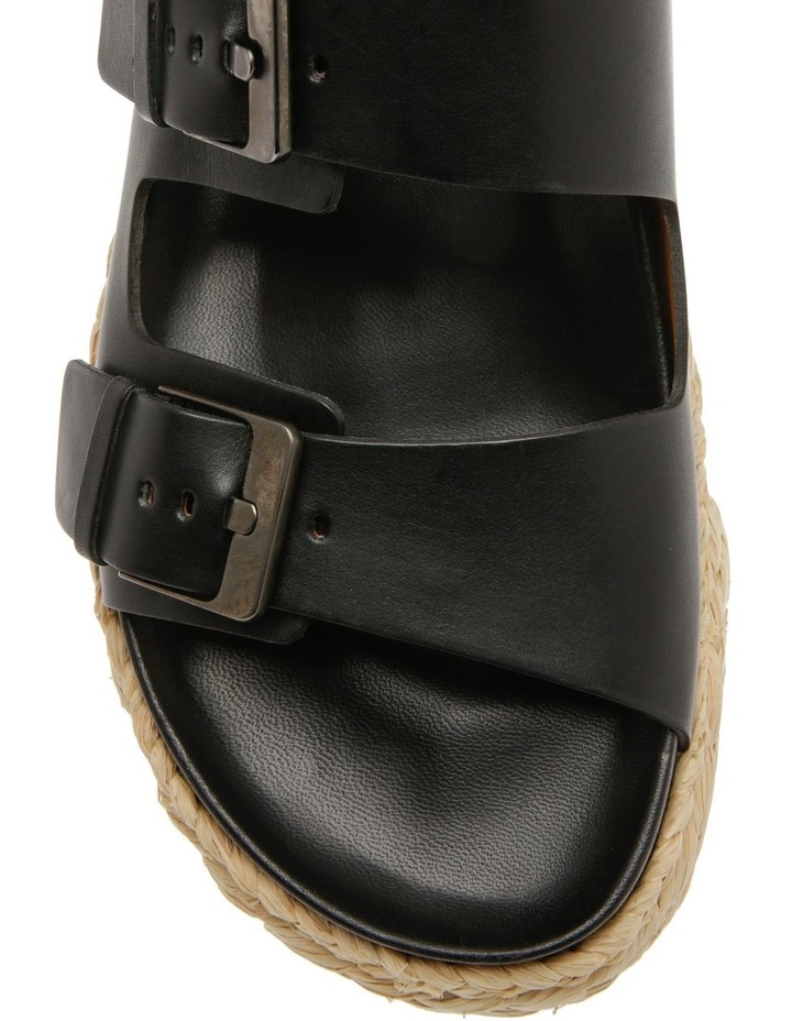Abby Black Calf Sandal image 3
