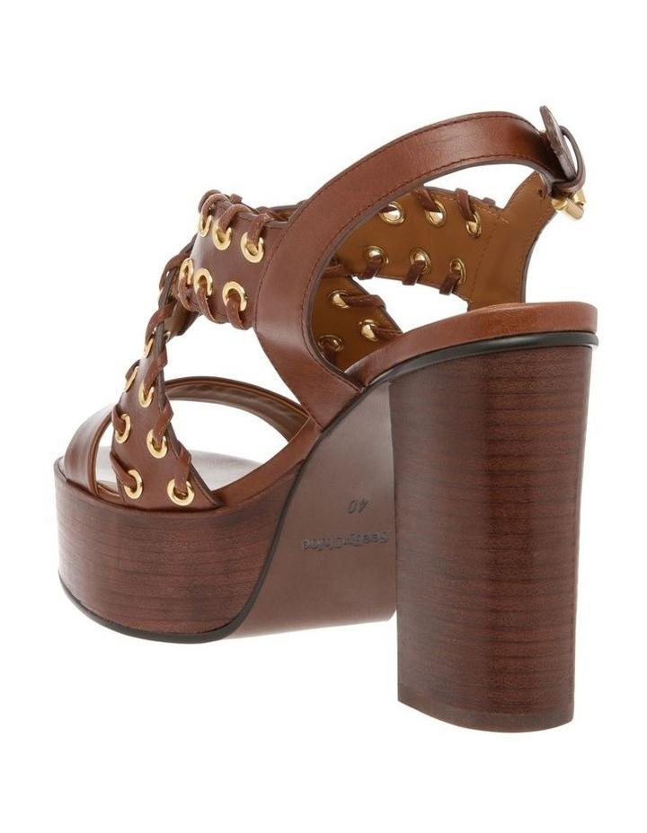 Slingback Platform Sandal - Tan image 2