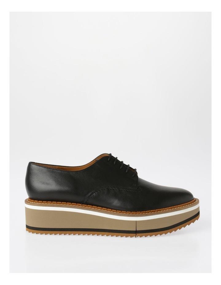 Berlin Black Nappa Flat Shoes image 1