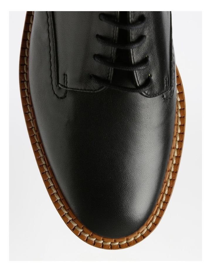 Berlin Black Nappa Flat Shoes image 2