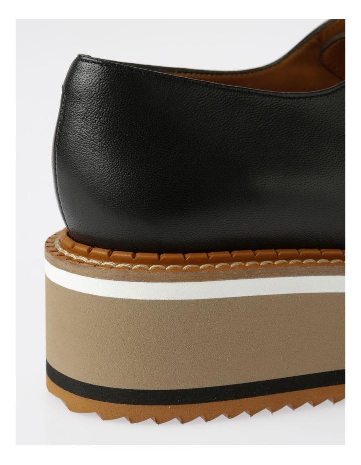 Berlin Black Nappa Flat Shoes image 4
