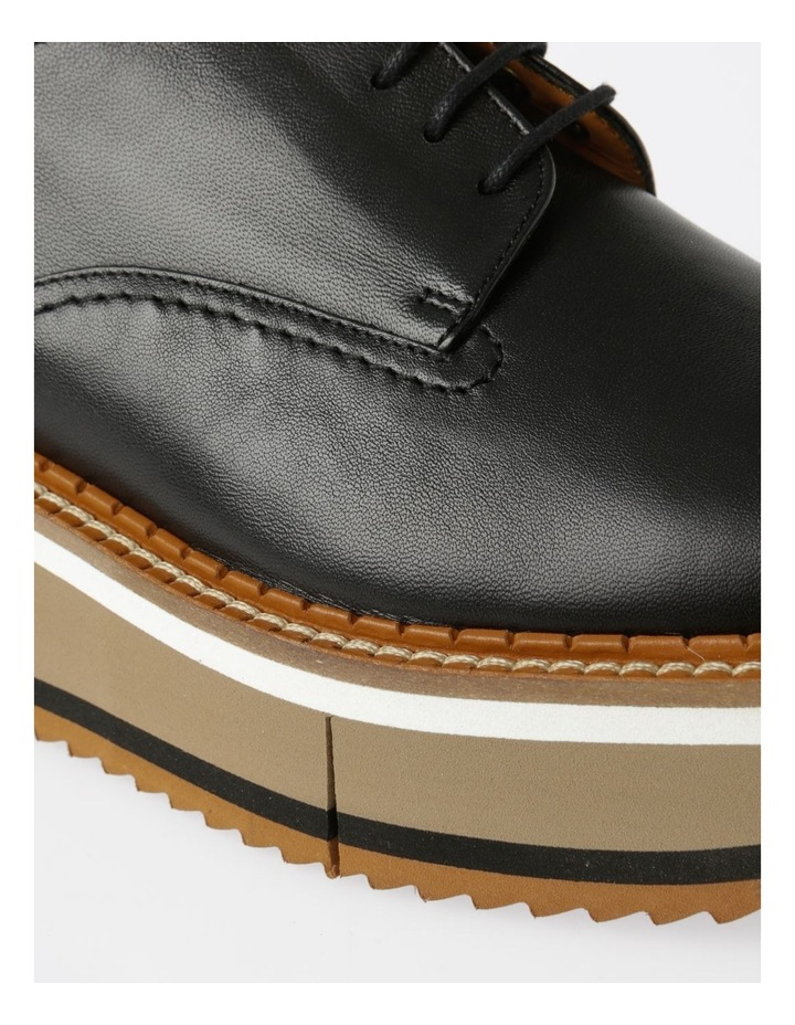 Berlin Black Nappa Flat Shoes image 5